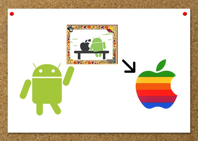 photos Android vers iPhone