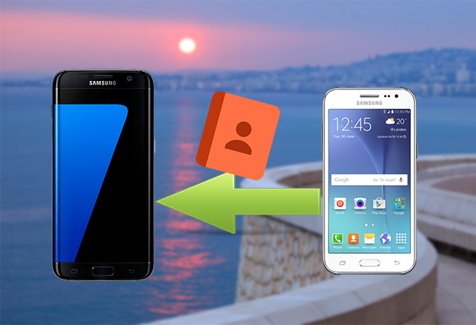 how to transfer contacts from Samsung to Samsung